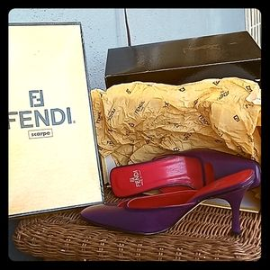 Fendi kid purple